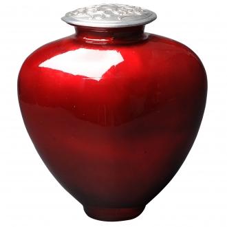 COEUR - Urne en verre