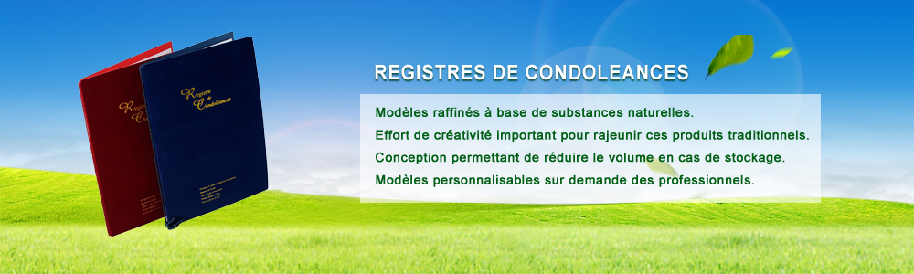 Registres de condoléances